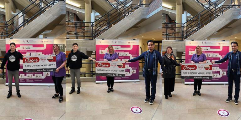 Parkstad Plaza Kerkrade biedt medewerkers MeanderGroep een speciaal diner aan