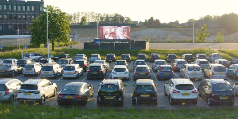 Bekijk de aftermovie van onze Drive-In bioscoop