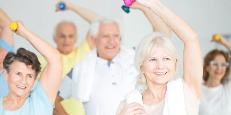 Bewegen met dementie & begeleider