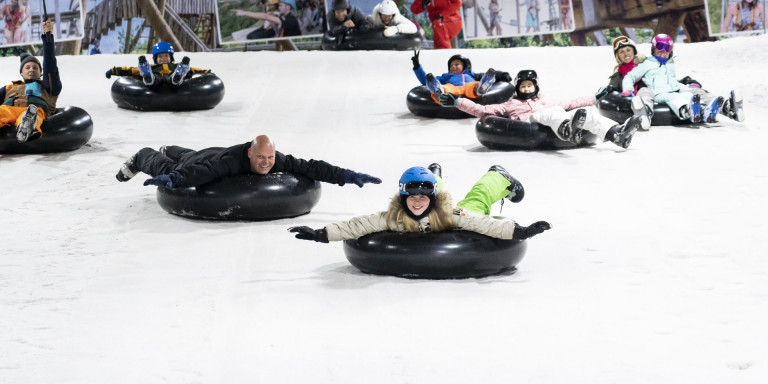 Indoor wintersporten - SnowWorld