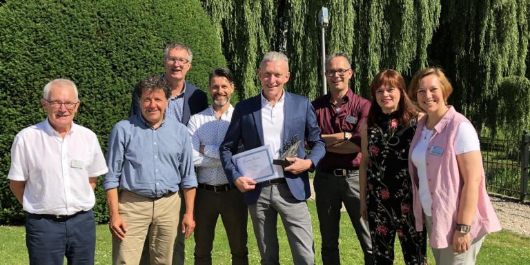 Roger Ruijters wint Ludo Scheres Award